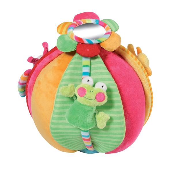 Мягкие игрушки Gulliver Развивающий мяч Кувшинка с лягушкой