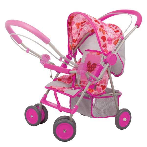 Игрушечные коляски Gulliver с сердечком 9812