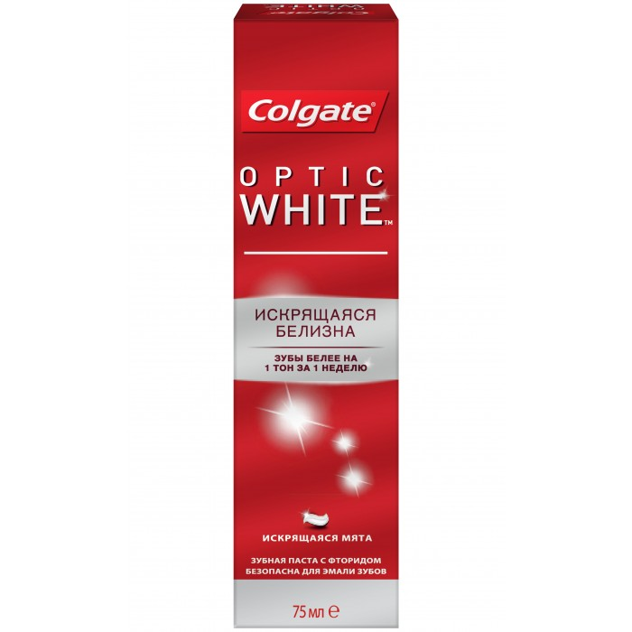 Colgate ������ ����� Optic White 75 ��