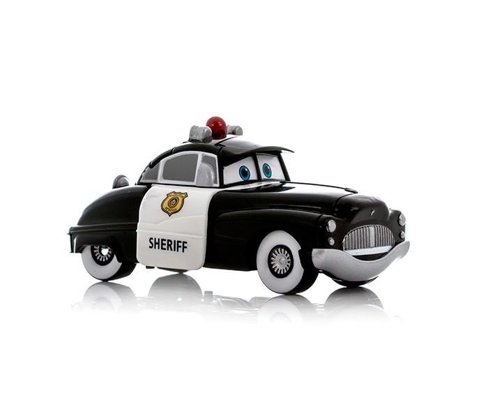 EggStars Яйцо-трансформер ШерифЯйцо-трансформер ШерифЯйцо-трансформер EggStars Шериф  Если Ваш малыш является поклонником Диснеевского мультфильма «Тачки», порадуйте его новой игрушкой трансформером, выполненным в виде одного из героев мультика! Полицейский автомобильчик Шериф, как и положено настоящему служителю порядка, отвечает за безопасность всех жителей города Радиатор-Спрингс, населенного самыми разнообразными машинами.  Небольшая игрушка автомобильчик путем нескольких несложных манипуляций преобразуется в еще более компактное яйцо. Ваш ребенок сможет собирать и разбирать его сам, в игровой форме получая навыки простой трансформации одного предмета в другой, тренируя моторику пальчиков, совершенствуя логическое мышление и память. Небольшие размеры игрушки позволяют брать её с собой и играть в любое свободное время, скрасить скучное время в длительной дороге или же собрать целую коллекцию персонажей мультфильма «Тачки». Кроме того, с игрушкой трансформером в режиме автомобиля можно играть как с обычной машинкой.  Игрушка в сложенном виде имеет размер около 9 см, выполнена из высококачественно пластика.<br>