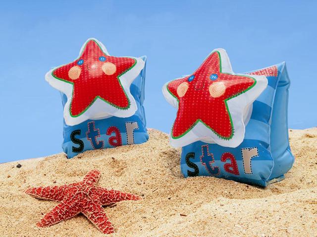 Круги и нарукавники для плавания Intex Нарукавники со звездами 56651NP