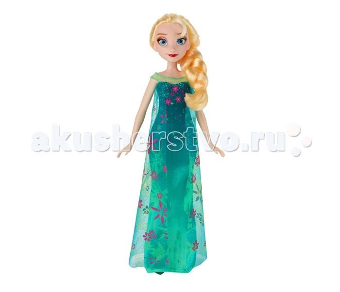 Hasbro Кукла Disney Frozen Эльза Холодное ТоржествоКукла Disney Frozen Эльза Холодное ТоржествоКукла Hasbro Холодное сердце Эльза Холодное Торжество  Эльза - одна из главных героинь полнометражного диснеевского мультфильма Холодное сердце. Она обладает волшебной силой и умеет своими руками создавать лед и снег. Такая кукла сможет стать отличным подарком для юной поклонницы мультфильма Frozen.  Эльза одета в великолепное платье цвета морской волны из легкой ткани, украшенное изящными узорами в виде цветов и звездочек. В комплект входит также пара очаровательных туфелек - с ними образ Эльзы будет завершенным и элегантным. Кроме того, в набор включен миниатюрный гребешок, которым можно расчесывать густые волосы куклы, а также украшать им заплетенную косу. Яркий, стильный макияж эффектно подчеркивает красоту Эльзы.  Руки куклы подвижны, благодаря чему она может принимать различные позы.<br>