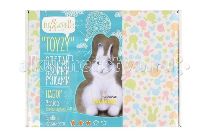 ToyzyKit Валяние из шерсти ЗаяцВаляние из шерсти ЗаяцЗамечательный набор для рукоделия Валяние из шерсти станет отличным подарком для любого творческого ребенка.   С помощью детальной инструкции, схемы и материалов ребенок сможет создать своими руками потрясающую поделку. Готовая работа может стать достойным подарком или сувениром для друзей и близких.   Все материалы для изготовления игрушки являются 100% натуральными и качественными.  Состав набора: детальная инструкция схема необходимые материалы (шерсть, пластика для глазок) инструменты для рукоделия  Валяние из шерсти - увлечение, ставшее популярным благодаря появлению наборов для рукоделия с необходимыми инструментами и материалами. В наборах используется специальный материал латвийский кардочес. Данный материал очень пластичен, идеален для первых шагов в освоении техники сухого валяния иглой, имеет широкую цветовую гамму, поверхность готовой игрушки получается однородной.<br>