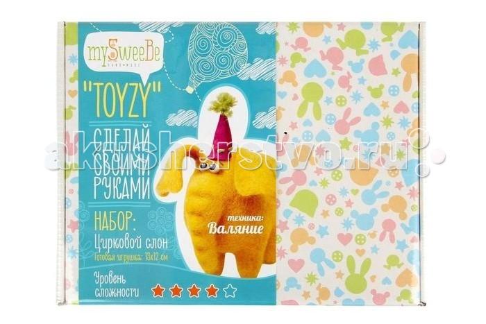 ToyzyKit Валяние из шерсти СлонВаляние из шерсти СлонЗамечательный набор для рукоделия Валяние из шерсти станет отличным подарком для любого творческого ребенка.   С помощью детальной инструкции, схемы и материалов ребенок сможет создать своими руками потрясающую поделку. Готовая работа может стать достойным подарком или сувениром для друзей и близких.   Все материалы для изготовления игрушки являются 100% натуральными и качественными.  Состав набора: детальная инструкция схема необходимые материалы (шерсть, пластика для глазок) инструменты для рукоделия  Валяние из шерсти - увлечение, ставшее популярным благодаря появлению наборов для рукоделия с необходимыми инструментами и материалами. В наборах используется специальный материал латвийский кардочес. Данный материал очень пластичен, идеален для первых шагов в освоении техники сухого валяния иглой, имеет широкую цветовую гамму, поверхность готовой игрушки получается однородной.<br>