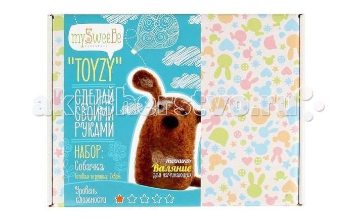ToyzyKit Валяние из шерсти СобачкаВаляние из шерсти СобачкаЗамечательный набор для рукоделия Валяние из шерсти станет отличным подарком для любого творческого ребенка.   С помощью детальной инструкции, схемы и материалов ребенок сможет создать своими руками потрясающую поделку. Готовая работа может стать достойным подарком или сувениром для друзей и близких.   Все материалы для изготовления игрушки являются 100% натуральными и качественными.  Состав набора: детальная инструкция схема необходимые материалы (шерсть, пластика для глазок) инструменты для рукоделия  Валяние из шерсти - увлечение, ставшее популярным благодаря появлению наборов для рукоделия с необходимыми инструментами и материалами. В наборах используется специальный материал латвийский кардочес. Данный материал очень пластичен, идеален для первых шагов в освоении техники сухого валяния иглой, имеет широкую цветовую гамму, поверхность готовой игрушки получается однородной.<br>