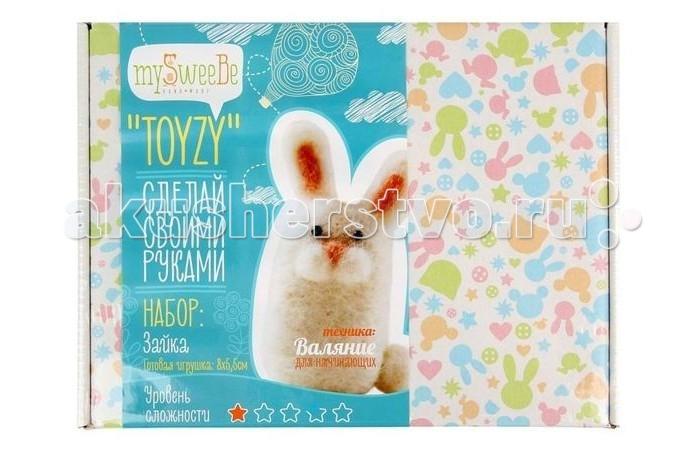 ToyzyKit Валяние из шерсти ЗайкаВаляние из шерсти ЗайкаЗамечательный набор для рукоделия Валяние из шерсти станет отличным подарком для любого творческого ребенка.   С помощью детальной инструкции, схемы и материалов ребенок сможет создать своими руками потрясающую поделку. Готовая работа может стать достойным подарком или сувениром для друзей и близких.   Все материалы для изготовления игрушки являются 100% натуральными и качественными.  Состав набора: детальная инструкция схема необходимые материалы (шерсть, пластика для глазок) инструменты для рукоделия  Валяние из шерсти - увлечение, ставшее популярным благодаря появлению наборов для рукоделия с необходимыми инструментами и материалами. В наборах используется специальный материал латвийский кардочес. Данный материал очень пластичен, идеален для первых шагов в освоении техники сухого валяния иглой, имеет широкую цветовую гамму, поверхность готовой игрушки получается однородной.<br>