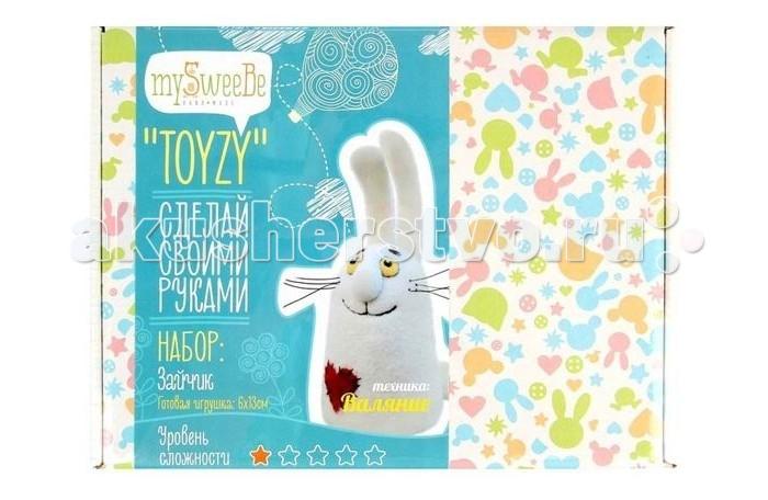 ToyzyKit Валяние из шерсти ЗайчикВаляние из шерсти ЗайчикЗамечательный набор для рукоделия Валяние из шерсти станет отличным подарком для любого творческого ребенка.   С помощью детальной инструкции, схемы и материалов ребенок сможет создать своими руками потрясающую поделку. Готовая работа может стать достойным подарком или сувениром для друзей и близких.   Все материалы для изготовления игрушки являются 100% натуральными и качественными.  Состав набора: детальная инструкция схема необходимые материалы (шерсть, пластика для глазок) инструменты для рукоделия  Валяние из шерсти - увлечение, ставшее популярным благодаря появлению наборов для рукоделия с необходимыми инструментами и материалами. В наборах используется специальный материал латвийский кардочес. Данный материал очень пластичен, идеален для первых шагов в освоении техники сухого валяния иглой, имеет широкую цветовую гамму, поверхность готовой игрушки получается однородной.<br>