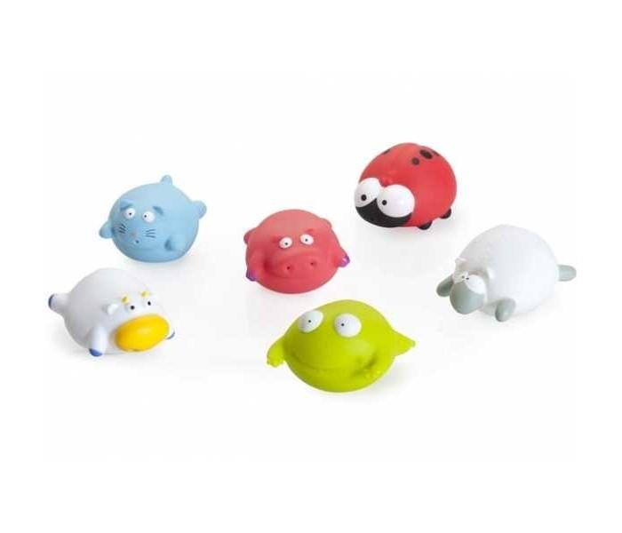 Babymoov Игрушка для ванны 104917 6 шт.Игрушка для ванны 104917 6 шт.6 забавных игрушек для ванны от Babymoov скрасят купание вашего малыша!<br>
