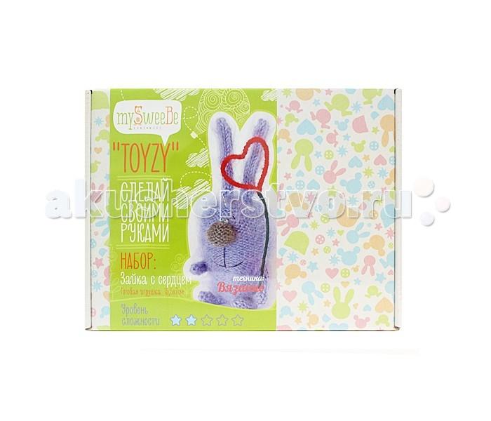 ToyzyKit Набор для вязания Зайка с сердцемНабор для вязания Зайка с сердцемЗамечательный набор для рукоделия Набор для вязания станет отличным подарком для любого творческого ребенка.   С помощью детальной инструкции, схемы и материалов ребенок сможет создать своими руками потрясающую поделку. Готовая работа может стать достойным подарком или сувениром для друзей и близких.   Все материалы для изготовления игрушки являются 100% натуральными и качественными.  Состав набора: детальная инструкция схема необходимые материалы (пряжа, нитки, наполнитель) инструменты для рукоделия  В каждом наборе для вязания - оригинальная по дизайну игрушка, уникальная авторская идея, для воплощения которой в наборе содержатся инструменты, материалы и подробная пошаговая инструкция с цветными фотографиями.<br>