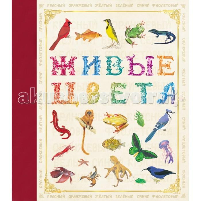 Росмэн Живые цветаЖивые цветаРосмэн Живые цвета. Рассматривая красочные иллюстрации этой книги, малыш не только познакомится с многообразием животного мира, но и выучит алфавит. Вручите своему ребёнку незабываемое путешествие в мир знаний и красоты.   Книга содержит более 100 уникальных иллюстраций, разглядывать их доставляет эстетическое удовольствие.<br>