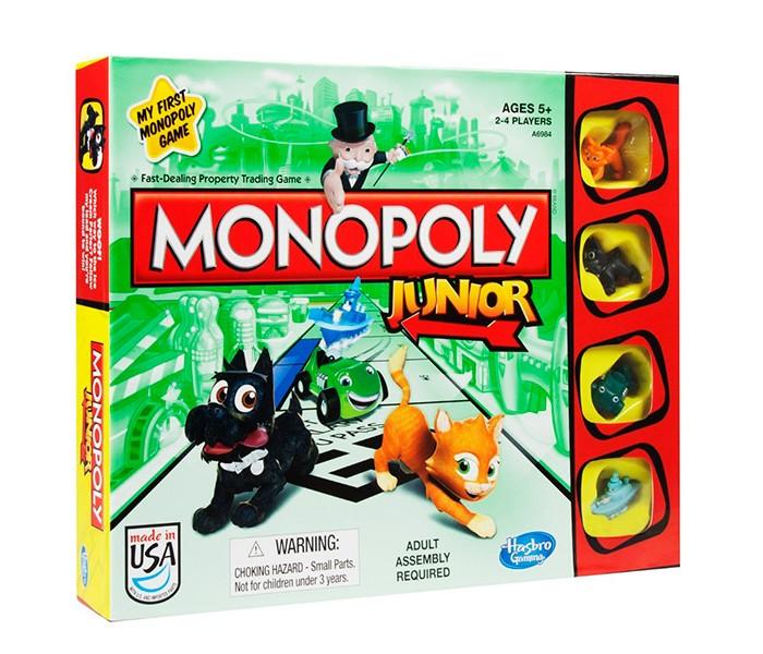 Hasbro Игра Моя первая Монополия от Акушерство