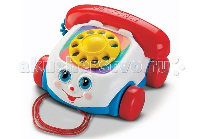 Каталки-игрушки Fisher Price Телефон 77816