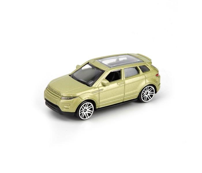 Технопарк Машина металлическая Land rover range rover evoque TOP620Машина металлическая Land rover range rover evoque TOP620Технопарк Машина металлическая Land rover range rover evoque 7,5 см в коробке в дисплее УП-48 шт.  Коллекционные машины бренда Технопарк станут отличным подарком для юного исследователя мира техники. Модель выполнена из высококачественного металла.  Замечательная машинка от торговой марки Технопарк станет прекрасным дополнением коллекции автомобилей вашего ребенка. Игрушка выполнена с высокой степенью детализации, в точности повторяя суперкар марки Land Rover Evoque. Модель имеет металлический корпус, дополненный пластиковыми элементами. Прозрачные стекла позволяют детально изучить салон суперкара. Миниатюрная копия спортивного автомобиля порадует как ребенка, так и взрослого коллекционера.<br>