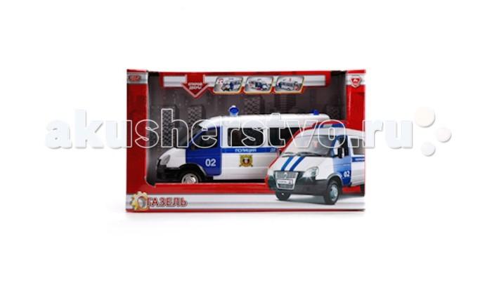 Технопарк Машина металлическая инерционная Газель полиция