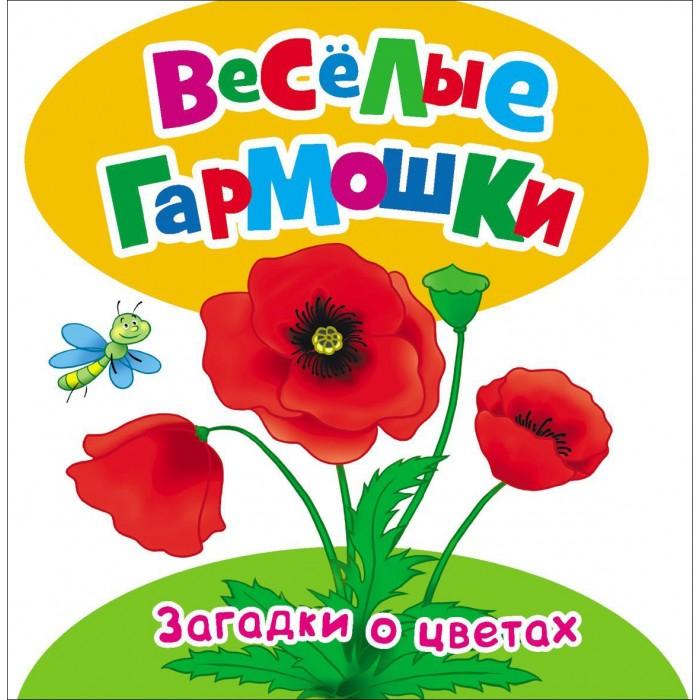 Росмэн Книжка Загадки о цветах