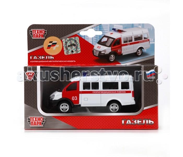 Технопарк Машина Газель Скорая помощь X600-H09032-R