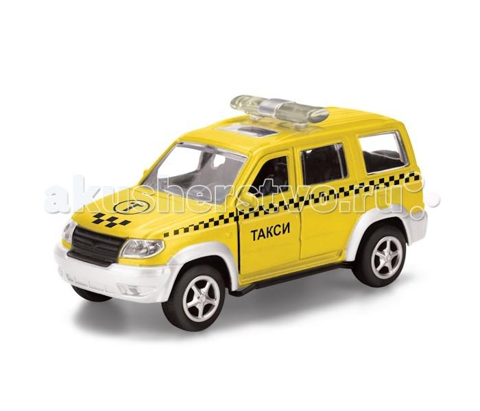 Технопарк Машина Уаз Патриот ТаксиМашина Уаз Патриот ТаксиТехнопарк Машина Уаз Патриот Такси, инерционная, открываются двери, в коробке 2 х 72 шт.   Металлическая машина в подарочной упаковке на русском языке, открывание дверей. Игрушка оснащена инерционным ходом. Для того чтобы автомобиль поехал вперед, необходимо его отвести назад, а затем резко отпустить. Прорезиненные колеса обеспечивают надежное сцепление с любой поверхностью пола. Набор является отличным подарком для юного гонщика.<br>