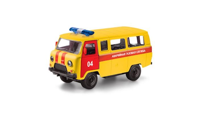 Технопарк Машина Уаз 39625 Аварийная газовая службаМашина Уаз 39625 Аварийная газовая службаТехнопарк Машина Уаз 39625 Аварийная газовая служба, металлическая, открываются двери, в коробке 2 х 72 шт.  Модель автомобиля ТехноПарк УАЗ 39625 Аварийная газовая служба, выполненная из металла, пластика и резины, станет любимой игрушкой вашего малыша. Игрушка представляет собой модель полицейского автомобиля УАЗ 39625 в масштабе 1:50. Передние и боковая дверцы модели открываются, а прорезиненные колеса обеспечивают надежное сцепление с любой поверхностью пола.  Модель оснащена инерционным ходом: достаточно немного отвести ее назад, а затем отпустить - машинка быстро поедет вперед. Ваш ребенок будет часами играть с этой машинкой, придумывая различные истории. Порадуйте его таким замечательным подарком!<br>