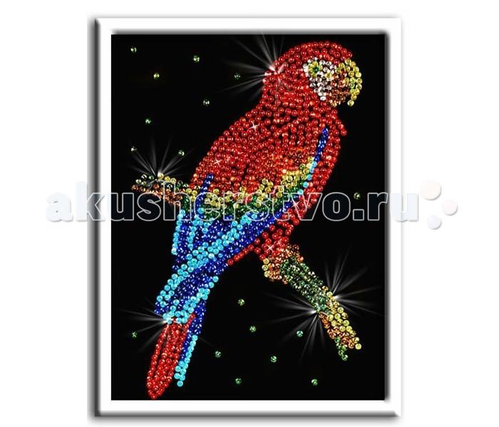 Волшебная мастерская Мозаика из пайеток Попугай какадуМозаика из пайеток Попугай какадуВолшебная мастерская Мозаика из пайеток Попугай какаду  Набор для творчества «Мозаика из пайеток» - это несложная, но оригинальная поделка, процесс создания которой стимулирует многие важные для ребенка качества и навыки. Основа мозаики изготовлена из пенопласта. К ней требуется пришпиливать разноцветные пайетки при помощи специальных гвоздиков. Полученная картина украсит ваш интерьер, в комплекте есть рамка. Этот набор позволит создать симпатичное блестящее изображение попугай какаду.  Комплект: планшет из пенопласта  цветной фон с точечным рисунком  схема с номерами и указанием цветовой гаммы  пайетки разных цветов соответственно картине  гвоздики-булавки для накалывания пайеток  рамка из пенопласта для оформления картины  инструкция.<br>