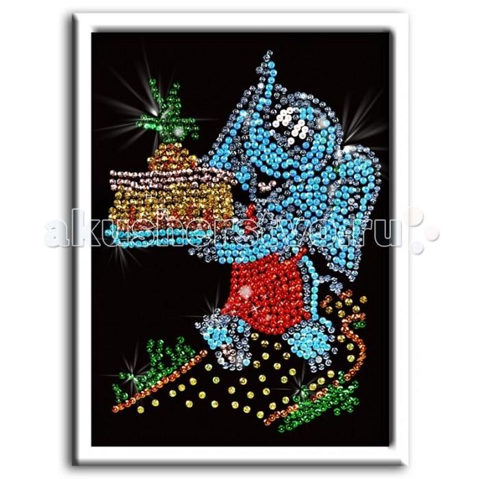 Волшебная мастерская Мозаика из пайеток СлоненокМозаика из пайеток СлоненокВолшебная мастерская Мозаика из пайеток Слоненок  Набор для творчества «Мозаика из пайеток» - это несложная, но оригинальная поделка, процесс создания которой стимулирует многие важные для ребенка качества и навыки. Основа мозаики изготовлена из пенопласта. К ней требуется пришпиливать разноцветные пайетки при помощи специальных гвоздиков. Полученная картина украсит ваш интерьер, в комплекте есть рамка. Этот набор позволит создать симпатичное блестящее изображение слоненка.  Комплект: планшет из пенопласта  цветной фон с точечным рисунком  схема с номерами и указанием цветовой гаммы  пайетки разных цветов соответственно картине  гвоздики-булавки для накалывания пайеток  рамка из пенопласта для оформления картины  инструкция.<br>