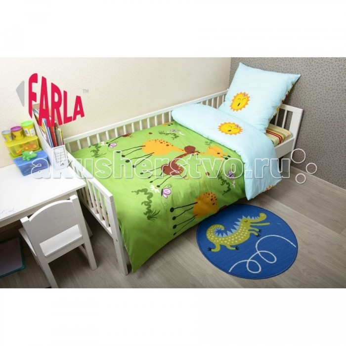 Комплект в кроватку Farla Giraffe 170х80 (5 предметов)