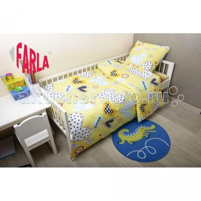Постельное белье Farla Heart 170х80 (5 предметов)