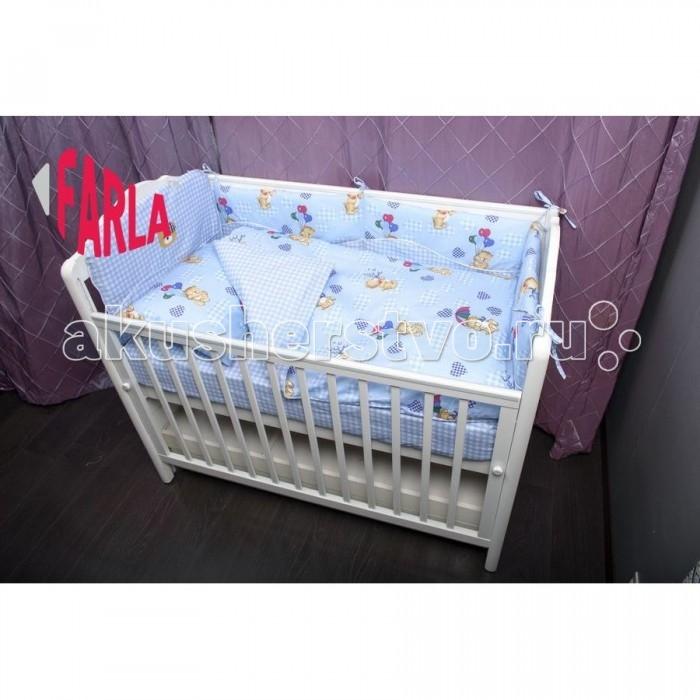 Комплект для кроватки Farla Bear (6 предметов)