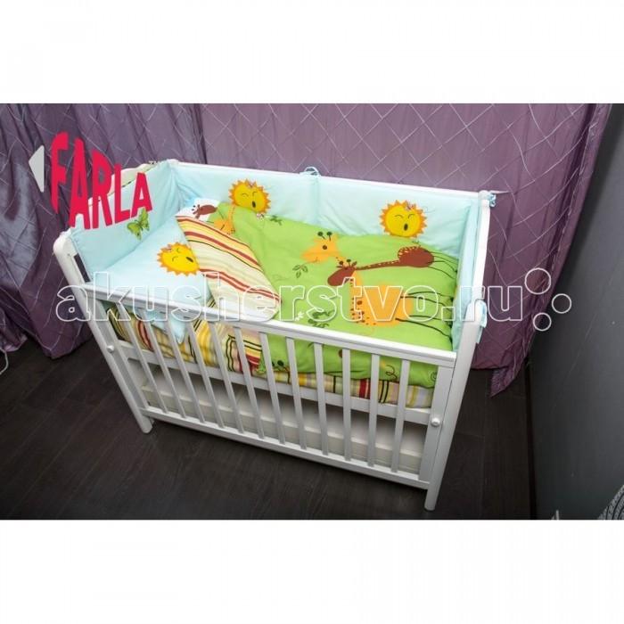 Комплект для кроватки Farla Giraffe (6 предметов)