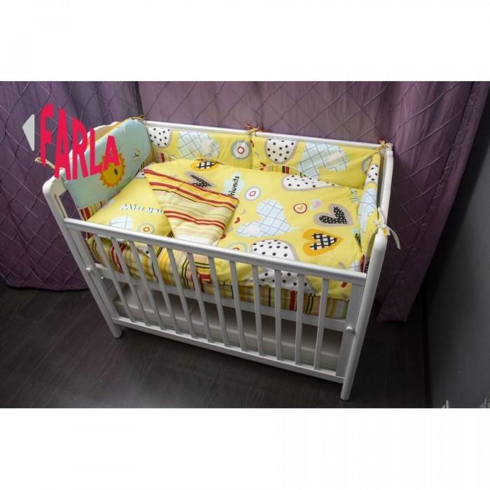 Комплект для кроватки Farla Heart (6 предметов)