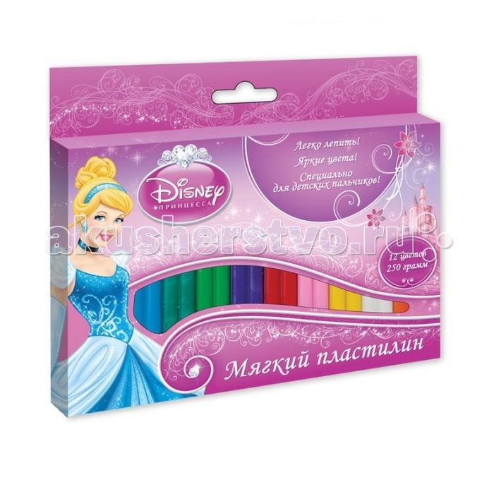 Disney Мягкий пластилин Disney Принцесса Золушка 12 цветов