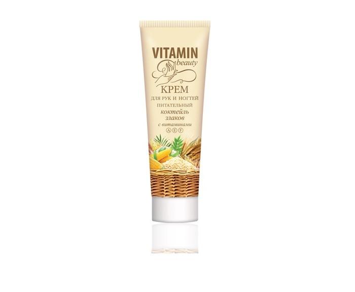 Vitamin Крем для рук и ногтей питательный Коктейль злаков 60 мл