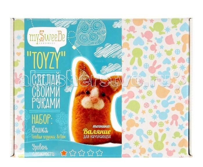 ToyzyKit Валяние из шерсти КошкаВаляние из шерсти КошкаToyzyKit Валяние из шерсти Кошка  Замечательный набор для рукоделия Валяние из шерсти станет отличным подарком для любого творческого ребенка.   С помощью детальной инструкции, схемы и материалов ребенок сможет создать своими руками потрясающую поделку. Готовая работа может стать достойным подарком или сувениром для друзей и близких.   Все материалы для изготовления игрушки являются 100% натуральными и качественными.  Состав набора: детальная инструкция схема необходимые материалы (шерсть, пластика для глазок) инструменты для рукоделия.  Валяние из шерсти - увлечение, ставшее популярным благодаря появлению наборов для рукоделия с необходимыми инструментами и материалами. В наборах используется специальный материал латвийский кардочес. Данный материал очень пластичен, идеален для первых шагов в освоении техники сухого валяния иглой, имеет широкую цветовую гамму, поверхность готовой игрушки получается однородной.<br>