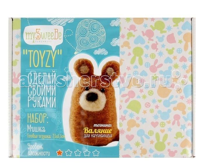 ToyzyKit Валяние из шерсти МишкаВаляние из шерсти МишкаToyzyKit Валяние из шерсти Мишка  Замечательный набор для рукоделия Валяние из шерсти станет отличным подарком для любого творческого ребенка.   С помощью детальной инструкции, схемы и материалов ребенок сможет создать своими руками потрясающую поделку. Готовая работа может стать достойным подарком или сувениром для друзей и близких.   Все материалы для изготовления игрушки являются 100% натуральными и качественными.  Состав набора: детальная инструкция схема необходимые материалы (шерсть, пластика для глазок) инструменты для рукоделия.  Валяние из шерсти - увлечение, ставшее популярным благодаря появлению наборов для рукоделия с необходимыми инструментами и материалами. В наборах используется специальный материал латвийский кардочес. Данный материал очень пластичен, идеален для первых шагов в освоении техники сухого валяния иглой, имеет широкую цветовую гамму, поверхность готовой игрушки получается однородной.<br>
