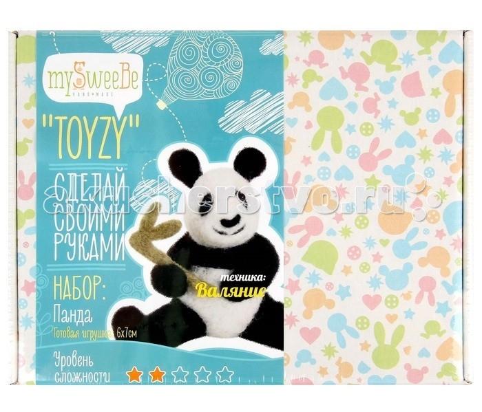 ToyzyKit Валяние из шерсти ПандаВаляние из шерсти ПандаToyzyKit Валяние из шерсти Панда  Замечательный набор для рукоделия Валяние из шерсти станет отличным подарком для любого творческого ребенка.   С помощью детальной инструкции, схемы и материалов ребенок сможет создать своими руками потрясающую поделку. Готовая работа может стать достойным подарком или сувениром для друзей и близких.   Все материалы для изготовления игрушки являются 100% натуральными и качественными.  Состав набора: детальная инструкция схема необходимые материалы (шерсть, пластика для глазок) инструменты для рукоделия.  Валяние из шерсти - увлечение, ставшее популярным благодаря появлению наборов для рукоделия с необходимыми инструментами и материалами. В наборах используется специальный материал латвийский кардочес. Данный материал очень пластичен, идеален для первых шагов в освоении техники сухого валяния иглой, имеет широкую цветовую гамму, поверхность готовой игрушки получается однородной.<br>