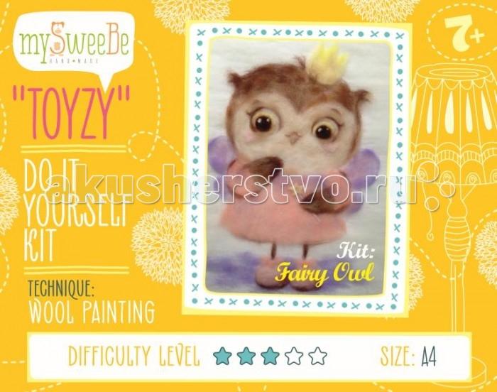 ToyzyKit Картина шерстью Сова-феяКартина шерстью Сова-феяToyzyKit Картина шерстью Сова-фея  Замечательный набор для рукоделия Картина шерстью станет отличным подарком для любого творческого ребенка.   С помощью детальной инструкции, схемы и материалов ребенок сможет создать своими руками потрясающую поделку. Готовая работа может стать достойным подарком или сувениром для друзей и близких.   Все материалы для изготовления картины являются 100% натуральными и качественными.  Состав набора: детальная инструкция порядок работы шерсть пинцет подложка (А4) дополнительные элементы  Технику создания картины шерстью иногда называют шерстяной акварелью, поскольку для ее создания используются сваленная разноцветная шерсть, а получившийся результат имеет определенное сходство с картиной, нарисованной акварелью. В то же время картина шерстью имеет существенное преимущество: ошибки при работе легко исправить, для этого достаточно удалить неудачный слой и положить его вновь. В случае с акварелью исправить художественные неточности будет гораздо сложнее. Создание картины шерстью - это творческий процесс, который разгружает нервную систему, развивает воображение, творческий потенциал.<br>