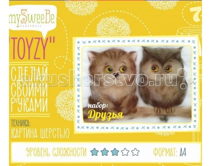 ToyzyKit Картина шерстью Друзья