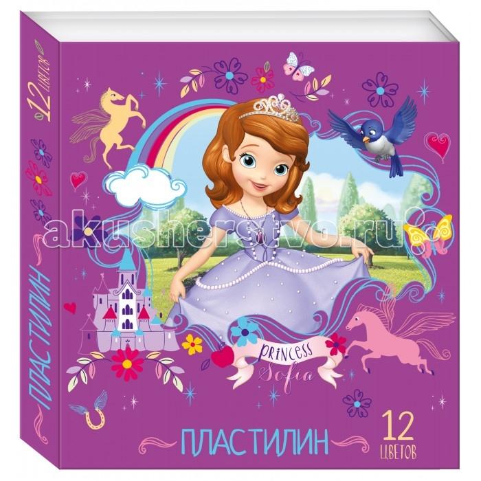 Disney Пластилин 12 цветов София