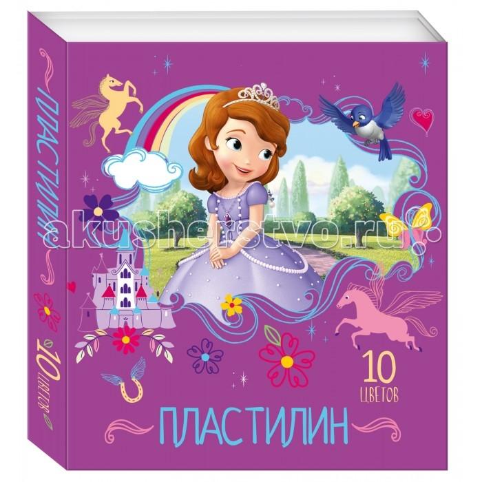 Disney Пластилин 10 цветов СофияПластилин 10 цветов СофияПластилин 10 цветов София подарит вашему ребенку возможность создавать различные интересные поделки. Изображенная на коробке принцесса София непременно вдохновит на поиск новых творческих идей. Яркий и легко размягчающийся пластилин без запаха, с отличными пластичными свойствами, он не липнет к рукам и безопасен при использовании по назначению.  Лепка из пластилина помогает ребенку развивать мелкую моторику и умение работать пальчиками, пространственное мышление и воображение.  В наборе 10 цветов пластилина, легко смешивающегося друг с другом.<br>