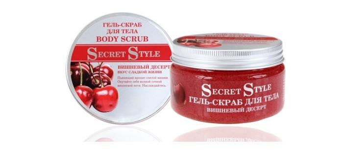 Secret Style Гель-скраб для тела Вишневый десерт 250 мл