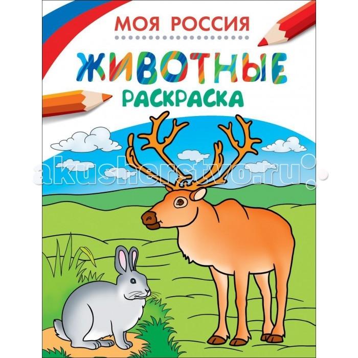 Раскраска Росмэн Моя Россия Животные