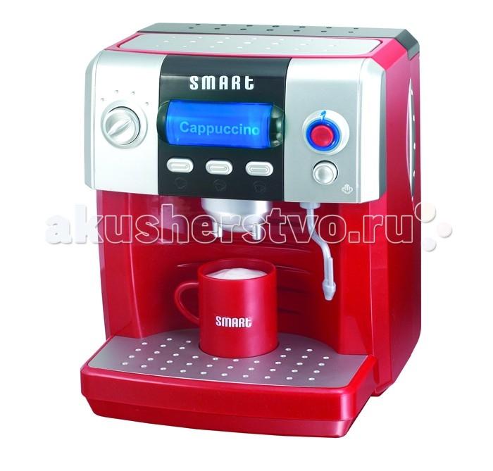 HTI КофеваркаКофеваркаКофеварка с аксессуарами.  Поверните колесико, чтобы выбрать напиток.   Включает в себя: сахарницу, щипцы для сахара, 6 кубиков сахара, молочник, 2 чашки, 2 ложки, молочную пенку. После приготовления кофе, пенка поднимается.  С подсветкой и звуками. Работает от 3- батареек типа АА (в наборе). Имеются также четыре кнопки, нажатие на которые вызывает различные звуковые эффекты; отдельной кнопкой включается подсветка.<br>