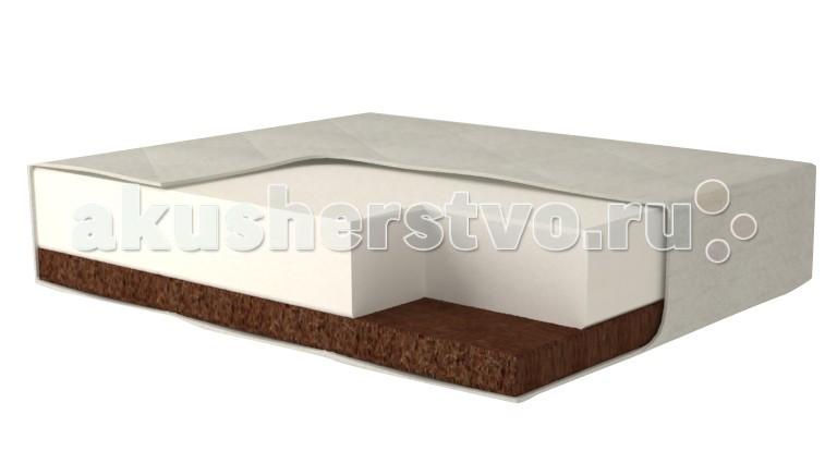 Матрацы ЛансЭлин KidsFashion дополнительный EKO BABY LUX 50х60 см для кроватки СКВ 2в1