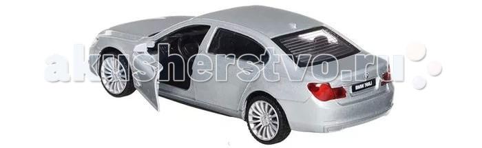 Технопарк Машина BMW 760Машина BMW 760Технопарк Машина BMW 760, инерционная, открыввющиеся двери, в коробке 2 х 36 шт.    Коллекционные машины бренда Технопарк станут отличным подарком для юного исследователя мира техники. Модель выполнена из высококачественного металла.  Замечательная машинка от торговой марки Технопарк станет прекрасным дополнением коллекции автомобилей вашего ребенка. Игрушка выполнена с высокой степенью детализации, в точности повторяя суперкар марки BMW 760. Модель имеет металлический корпус, дополненный пластиковыми элементами. Прозрачные стекла позволяют детально изучить салон суперкара. Миниатюрная копия спортивного автомобиля порадует как ребенка, так и взрослого коллекционера.<br>