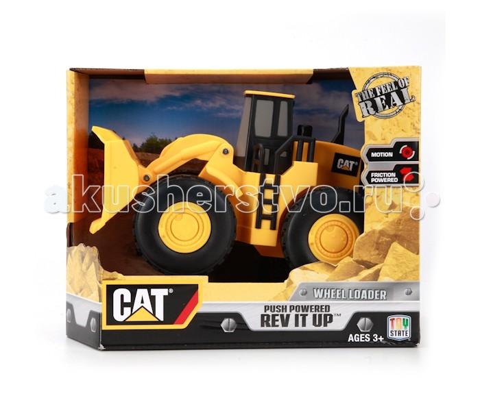 Toystate Строительная техника cat Экскаватор в коробке 6 штСтроительная техника cat Экскаватор в коробке 6 штToystate Строительная техника cat Экскаватор в коробке 6 шт.  Погрузчик колесный Toystate Cat создан в классическом стиле грузовой и строительной техники Cat. Корпус погрузчика создан из прочного, безопасного и качественного пластика.   Игрушка оснащена подвижным ковшом. Малыш проведет с этой игрушкой много увлекательных часов, воспроизводя свою стройку. Ваш ребенок будет в восторге от такого подарка!<br>