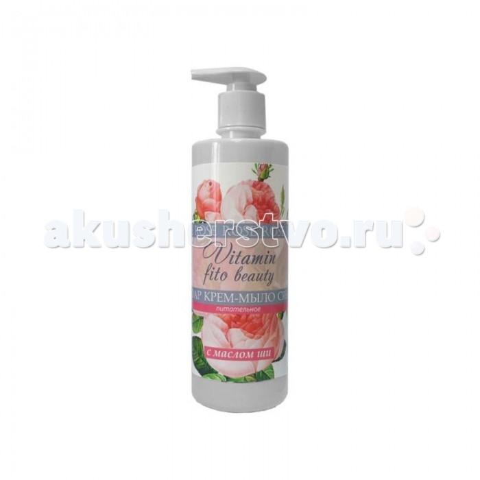Vitamin Крем-мыло Роза и масло ши 500 мл