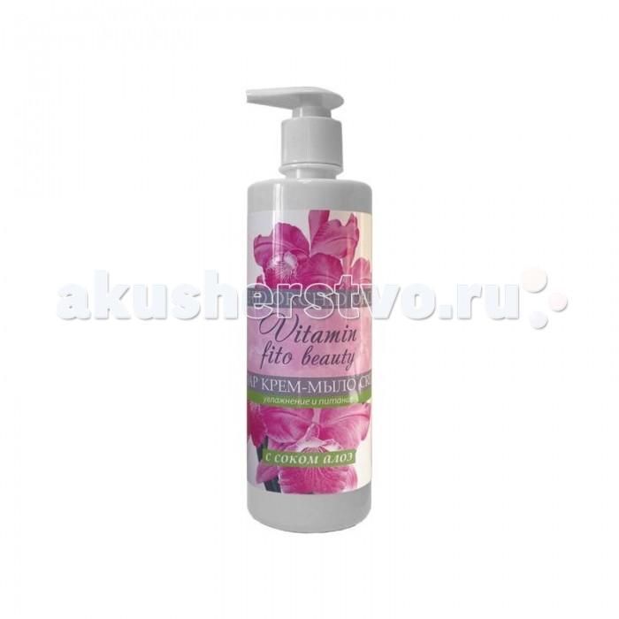 Vitamin Крем-мыло Орхидея и сок алоэ 500 мл