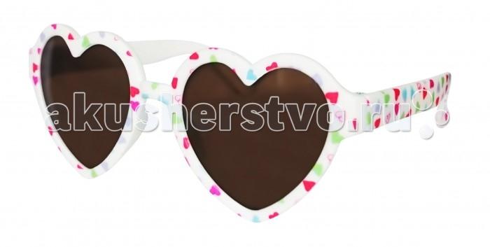 Солнцезащитные очки Caramella в форме сердечек с цветами от Акушерство