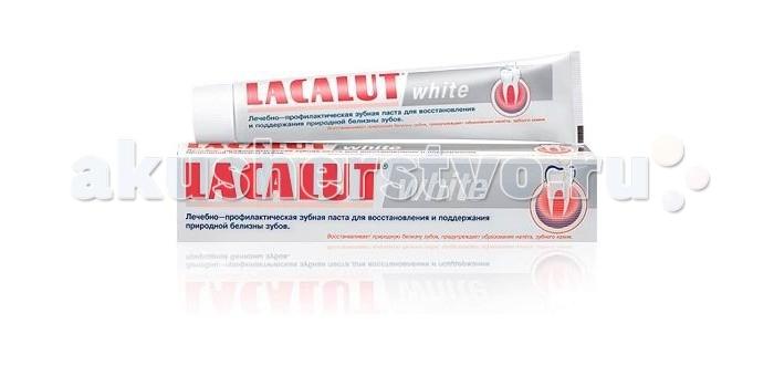 Lacalut ������ ����� White 75 ��