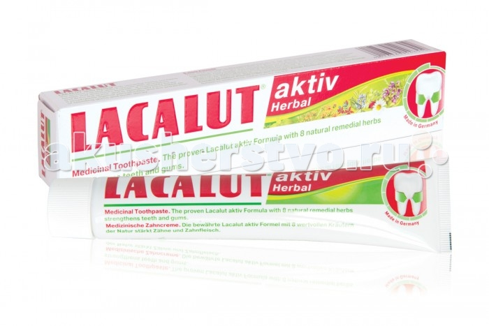Lacalut ������ ����� Aktiv Herbal 75 ��