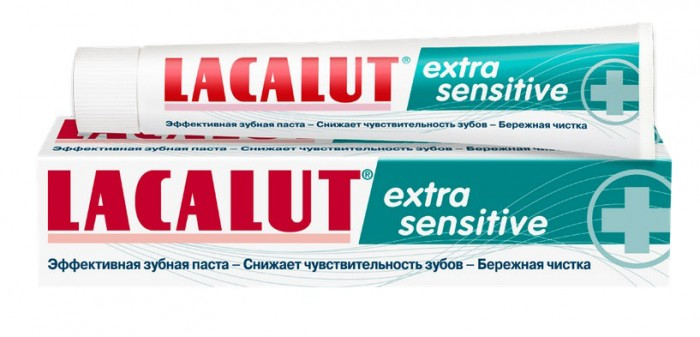 Lacalut ������ ����� Extra Sensitive 50 ��